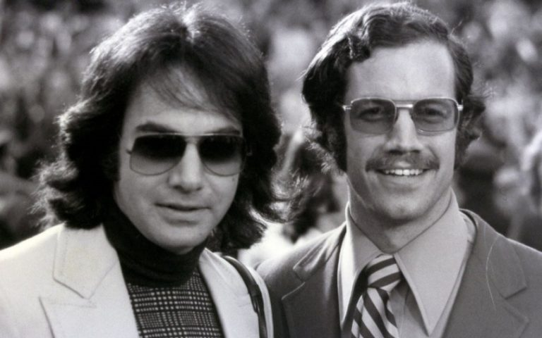 Neil Diamond with Dr. Bartner 1973