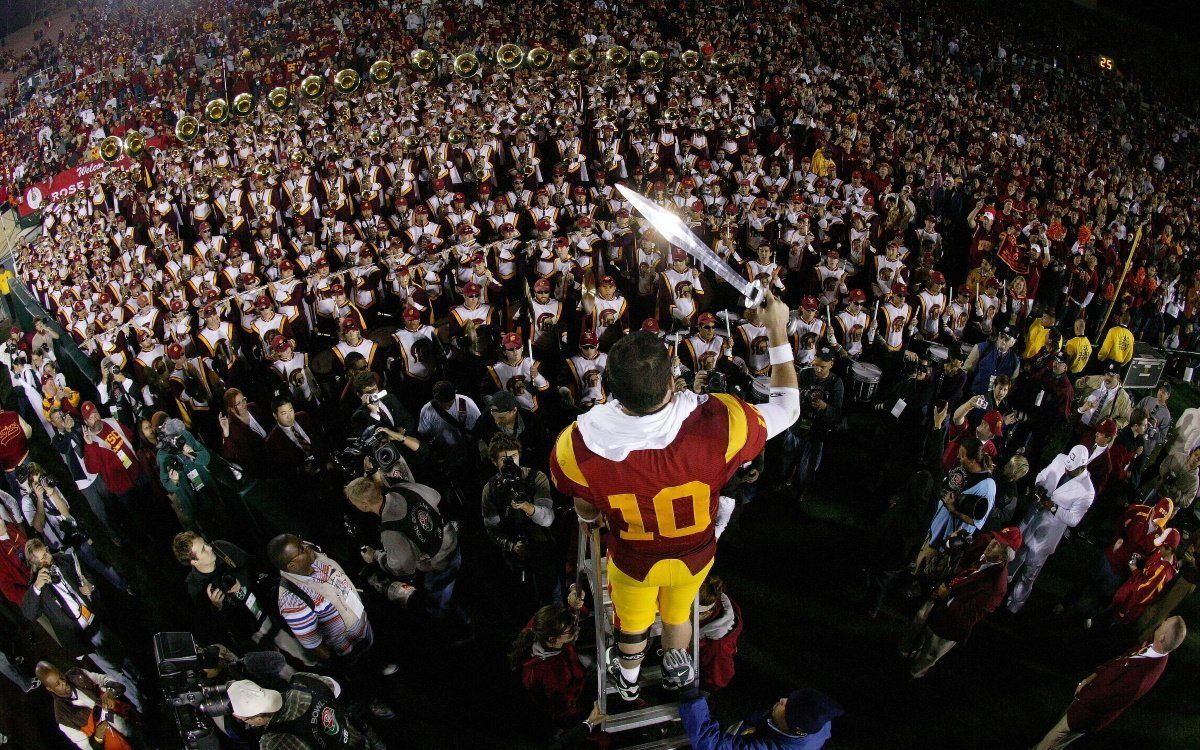 Rose Bowl 2008 Drum Major